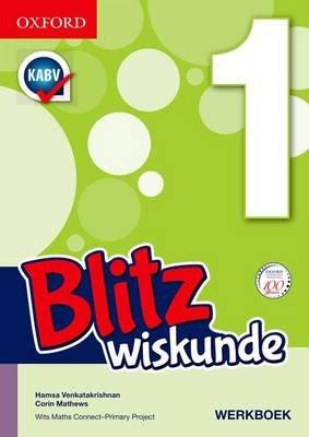 Blitz Wiskunde - Gr 1: Leerdersboek (Afrikaans, Paperback):