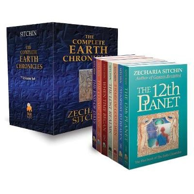 The Complete Earth Chronicles (Hardcover): Zecharia Sitchin