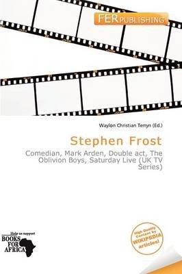 Stephen Frost (Paperback): Waylon Christian Terryn
