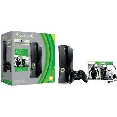 Microsoft Xbox 360 Console with Darksiders 2, Batman Arkham