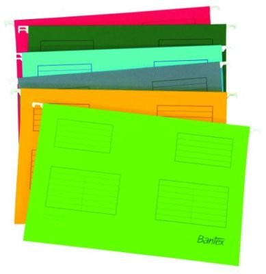 Bantex B3473 Suspension Files (Foolscap)(Grey)(10 Pack):