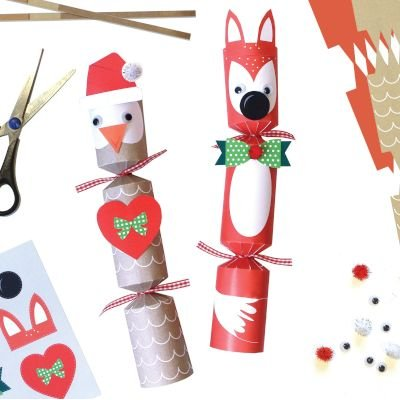 Holiday decor holly and ivy make your own christmas crackers 6 holly and ivy make your own christmas crackers 6 pack picture solutioingenieria Image collections
