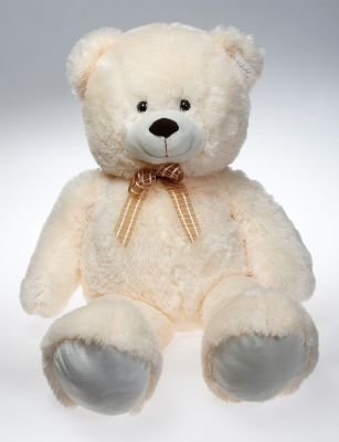 Peluche Sitting Bear (61cm | Cream):