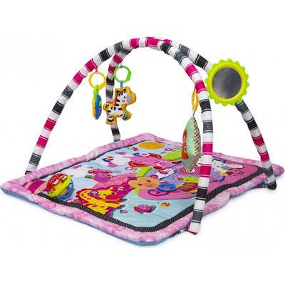 Nuovo Baby Play Mat - Square (Pink):