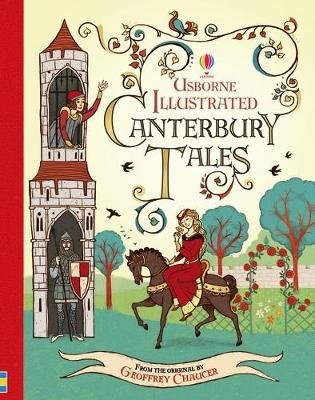 Illustrated Canterbury Tales (Hardcover): Geoffrey Chaucer