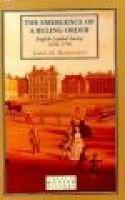 The Emergence of a Ruling Order - English Landed Society, 1650-1750 (Paperback): James M. Rosenheim