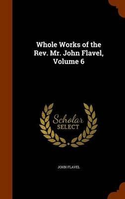 Whole Works of the REV. Mr. John Flavel, Volume 6 (Hardcover): John Flavel