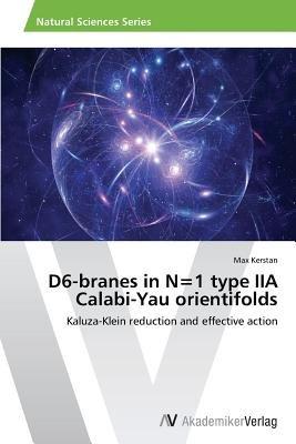 D6-Branes in N=1 Type Iia Calabi-Yau Orientifolds (Paperback): Kerstan Max