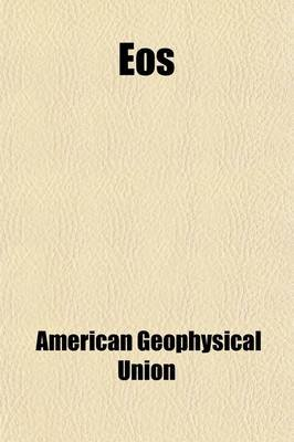 EOS (Volume 1-2) (Paperback): American Geophysical Union