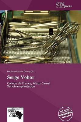 Serge Vohor (Paperback): Ferdinand Maria Quincy
