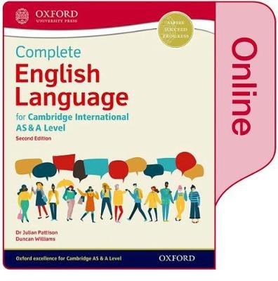 Complete English Language for Cambridge International AS & A Level - Online Student Book (Digital product license key): Julian...