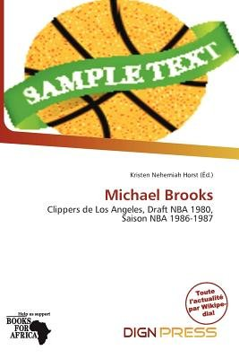 Michael Brooks (French, Paperback): Kristen Nehemiah Horst