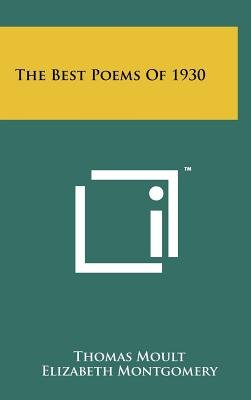 The Best Poems of 1930 (Hardcover): Thomas Moult