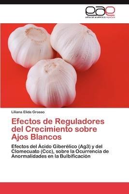 Efectos de Reguladores del Crecimiento Sobre Ajos Blancos (Spanish, Paperback): Liliana Elida Grosso