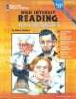 High Interest Reading Biographies - Grades 6-8 (Paperback): Delana Heidrich, Don Oconnor