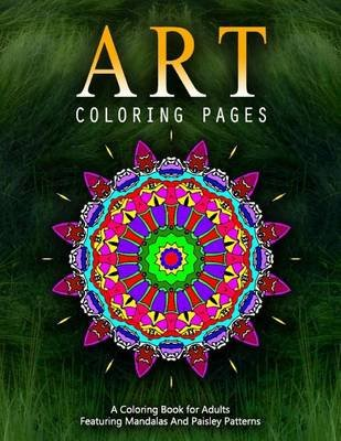 Art Coloring Pages, Volume 6 - Adult Coloring Pages (Paperback): Jangle Charm