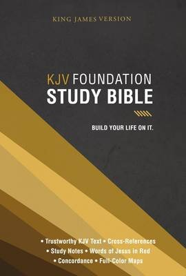KJV, Foundation Study Bible, Hardcover (Hardcover): Thomas Nelson