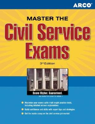 Master the Civil Service Exam, 3rd Edition (Paperback, 3rd): Shannon R Turlington, Arco