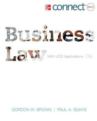 Business Law with Access Code (Hardcover, 13th): Gordon W Brown, Paul A Sukys