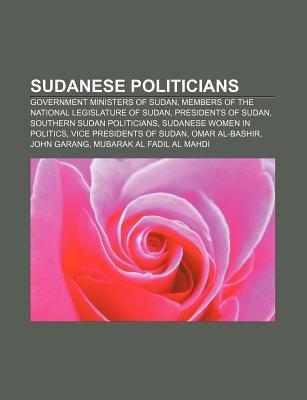 Sudanese Politicians - Government Ministers of Sudan
