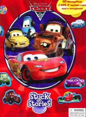 Stuck On Stories: Cars 2 - Storybook + 10 Character Suction Cups