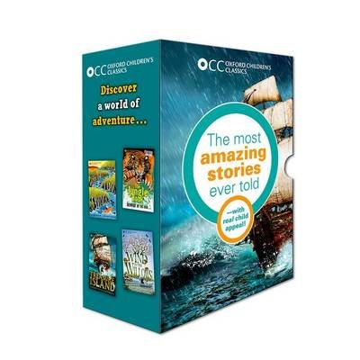 Oxford Children's Classics: World of Adventure box set (Paperback): Robert Louis Stevenson, Rudyard Kipling, Kenneth...