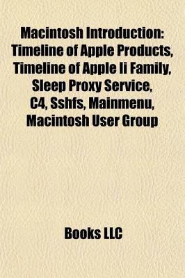 Macintosh Introduction - Uniform Type Identifier, Apple Sleep Proxy