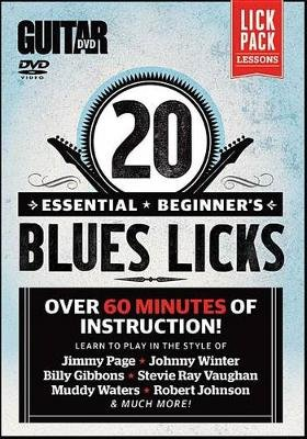 20 Essential Beginner's Blues Licks (DVD Audio): Alfred Music