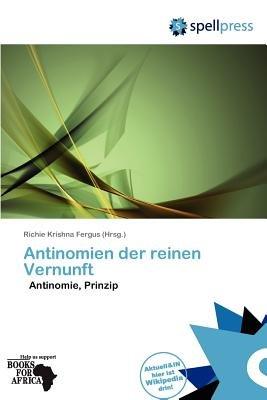 Antinomien Der Reinen Vernunft (German, Paperback): Richie Krishna Fergus