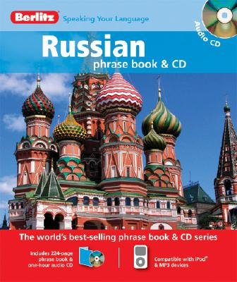Russian Berlitz Phrase Book and CD (Russian, English, Abridged, Paperback, abridged edition): Berlitz
