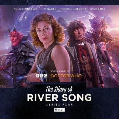The Diary of River Song - Series 4 (CD): Alex Kingston, Tom Baker