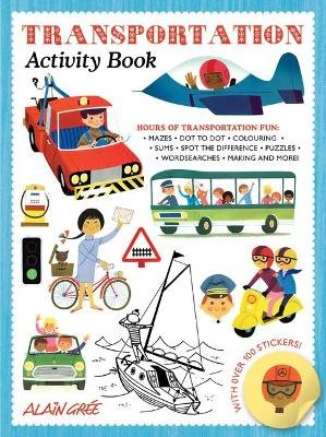 Transportation Activity Book (Paperback): Alain Gree