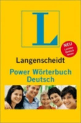 Langenscheidt Power Worterbuch Deutsch - Langenscheidt Power Worterbuch Deutsch (German, Hardcover):