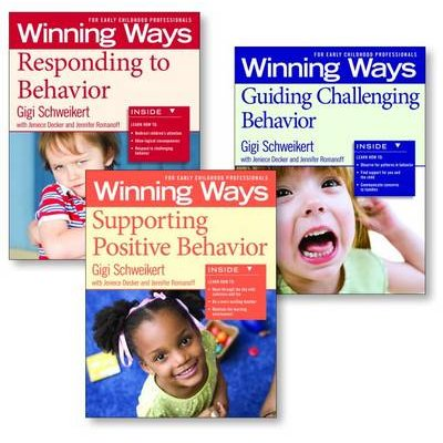 Supporting Positive Behavior, Responding to Behavior, Guiding Challenging Behavior [Assorted Pack] - Winning Ways for Early...