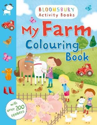 My Farm Colouring Book (Paperback):