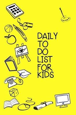 daily to do list for kids lined notebook journal to write in