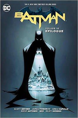 Batman Vol 10 Epilogue (Hardcover): Greg Capullo