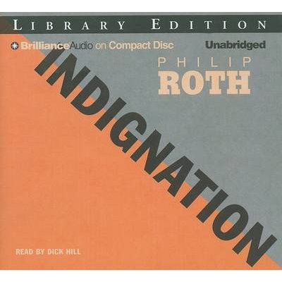 Indignation (Standard format, CD, Library ed.): Philip Roth