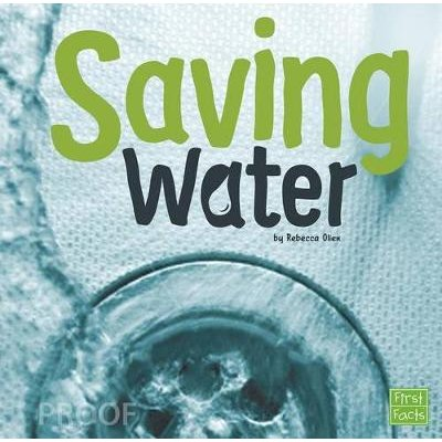 Saving Water (Water in Our World) (Paperback): Rebecca Olien