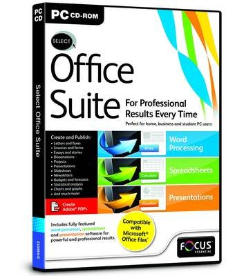Select: Office Suite (CD-ROM):