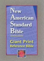 Giant Print Reference Bible-NASB (Large print, Paperback, large type edition): Foundation Publication Inc