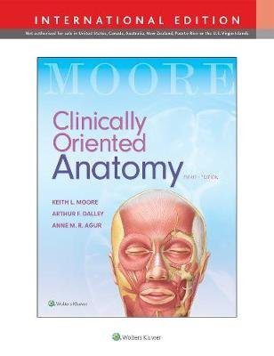 Clinically Oriented Anatomy (Paperback, Eighth, International ...