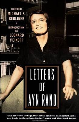 Letters of Ayn Rand (Paperback): Ayn Rand