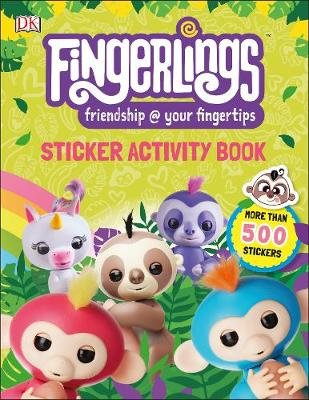 Fingerlings Sticker Activity Book (Paperback): Dk