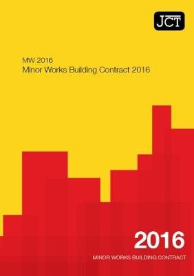 JCT:Minor Works Building Contract 2016 (MW) (Paperback):
