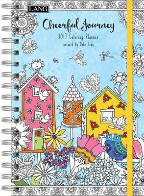 cal 2017 cheerful journey 2017 engagement planner spiral coloring