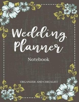 72ae00af5599 Wedding Planner Notebook - My Wedding Organizer & Checklist Budget ...