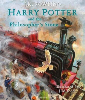 Harry Potter And The Philosopher's Stone (Hardcover, Illustrated Edition): J. K. Rowling