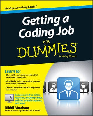 Getting a Coding Job For Dummies (Paperback): Nikhil Abraham