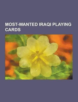 Most-Wanted Iraqi Playing Cards - Saddam Hussein, Qusay